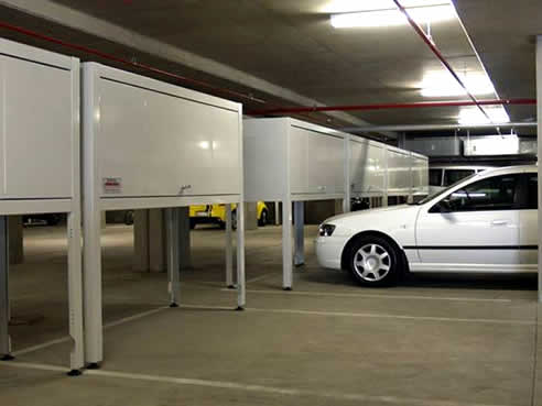 Apartment Garage Storage Units From Space Commander
