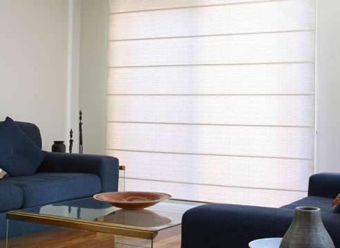 Translucent Roman Blinds From Blinds By Peter Meyer