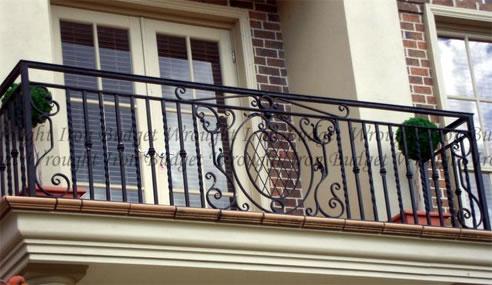 Wrought Iron Balconies Amp Balustrades Budget Wrought Iron