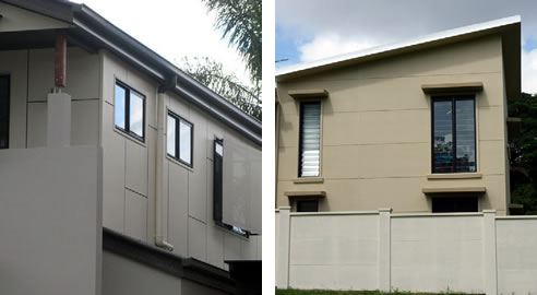 insulated cladding panels