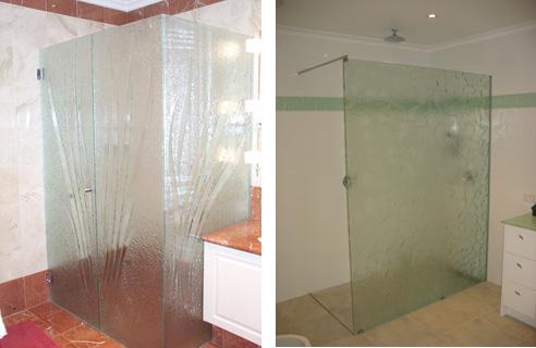 Slumped Glass Showerscreens Profile Glass Kilsyth Vic 3137