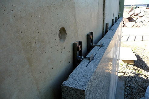 Fixing Heavy Stone Panels With Stoneclips From Stoneclip