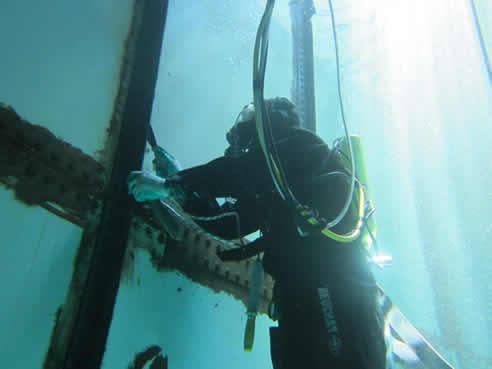Remote Island Potable Water Tank Leak Repair from Bayset