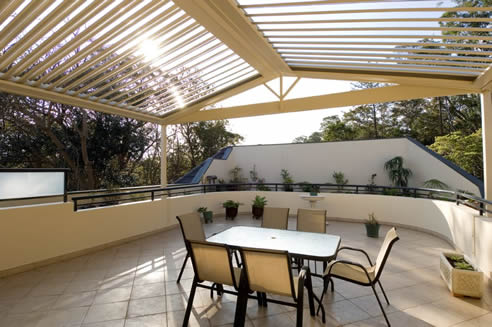 Opening And Closing Louvre Roof Design Options Vergola