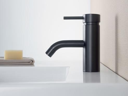 Matt Black Mixer Range by Caroma   GWA Bathrooms & Kitchens
