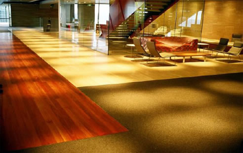 access floor at westpac head office sydney