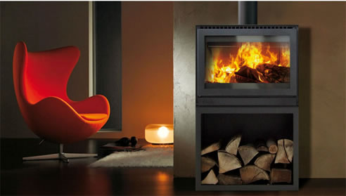 Contemporary Wood Burning Fireplaces Chazelles Australia