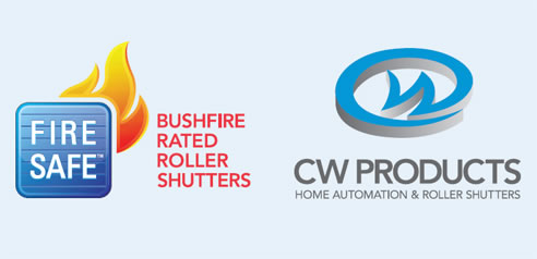 cw products bushfire rated roller shutters