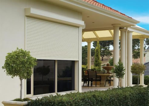bushfire rated roller shutters