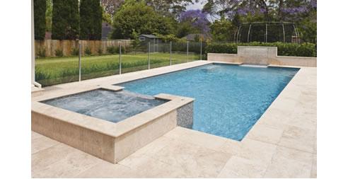 Travertine For Swimming Pool Design Sareen Stone