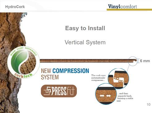 Water Resistant Cork Flooring By Wicanders Preference Floors