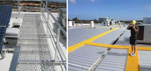 Aluminium and FRP Walkway Systems   Jomy Safety Ladders