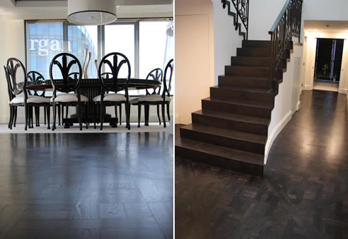 Solid Oak Marie Antoinette Flooring Antique Floors