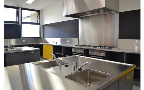 Teaching Kitchen Stainless Steel