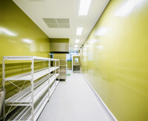 Impact resistant walling from Altro
