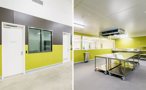 Hygienic wall cladding from Altro