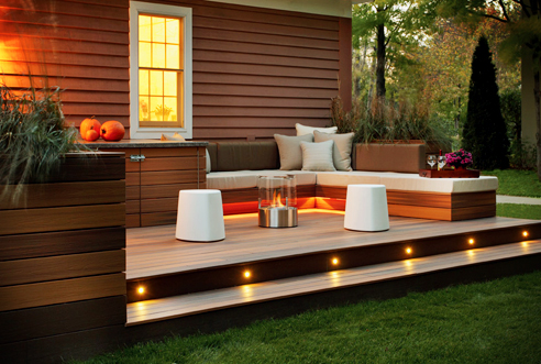 Mobile fire furniture from EcoSmart Fire