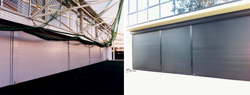 Lock up roller shutters from Rollashield
