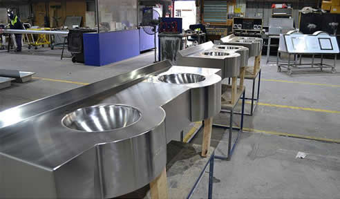 Stainless Steel Multi Vanity Basins