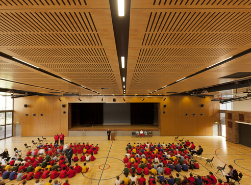Acoustic Lining School Hall