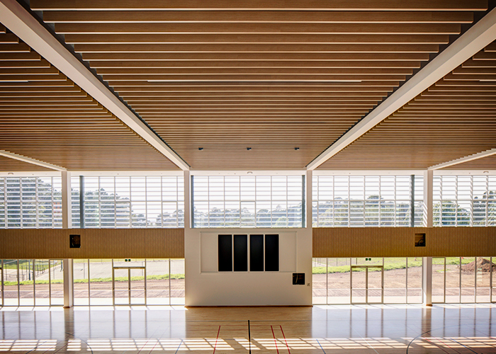 Acoustic Panels for School Halls from SUPAWOOD
