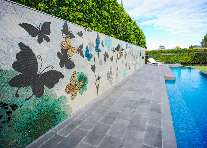Bespoke Residential Pool Mosaic Tiles from TREND