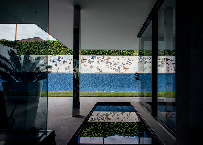 Bespoke Pool Mosaics from TREND