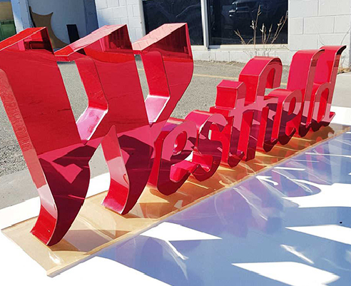 Fabricated Letter Signage Brisbane from Allstar Plastics