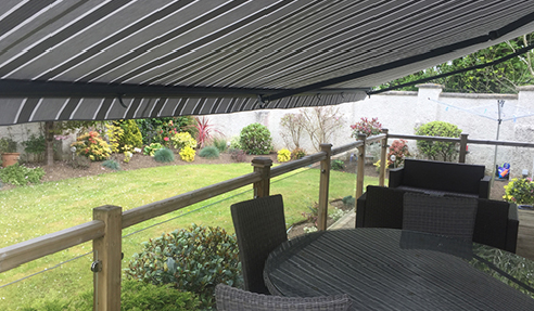 Residential Folding Arm Awnings