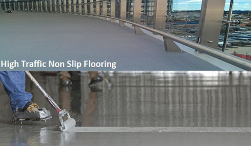 Industrial Non-Slip Epoxy Floor Coatings from Poly-Tech