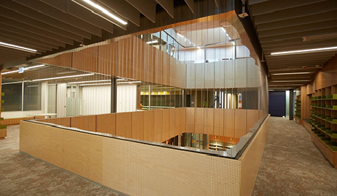 Key-Ply Interior Lining for Monash University from Keystone Linings