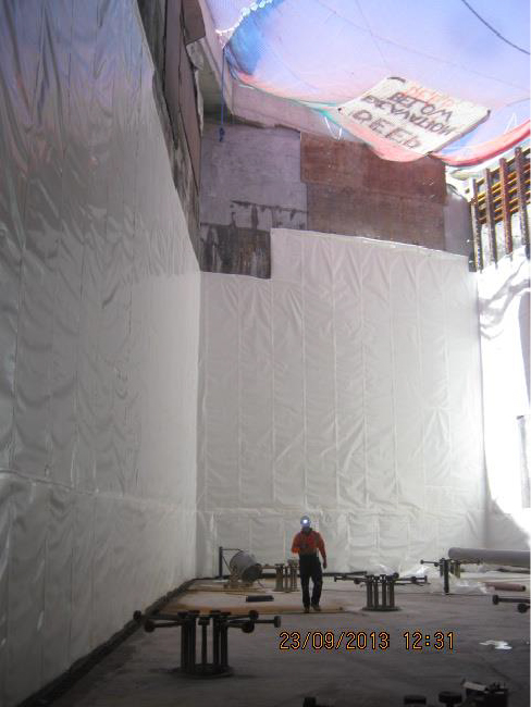 Preprufe Membrane Pre-Applied Waterproofing Solutions by GCP