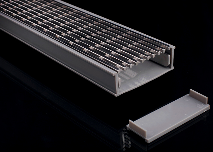 uPVC Drainage Channels for Hotel Bathrooms from Hydro