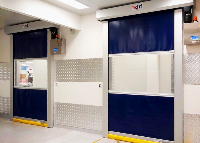 High-speed Doors for Hygienic Areas from DMF International