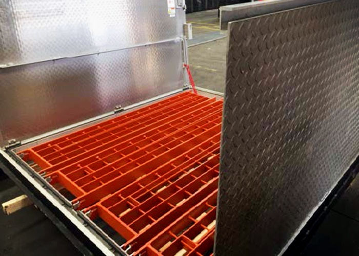 Multipart Covers with Safety Grates from EJ