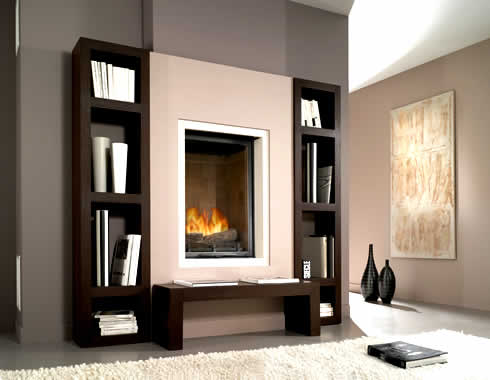Luxury Fireplace Interior Designs Ideas