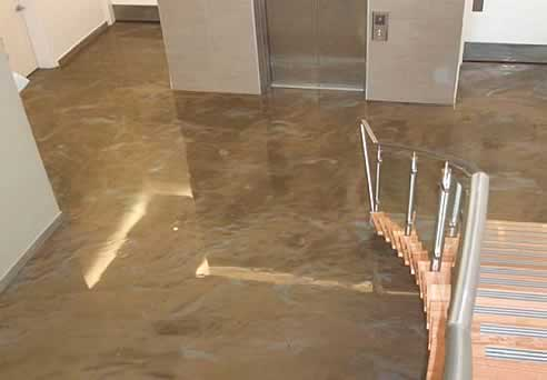 Environmentally Friendly Designer Epoxy Flooring By Aaa