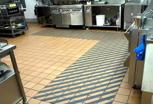 Non Slip Floor Tiles For Commercial Kitchen Gurus Floor