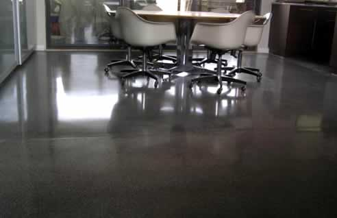 zuny polished concrete floor