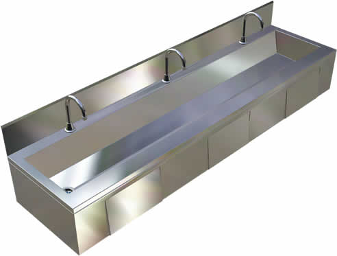 Metal Trough Sink : Back > Gallery For > Stainless Steel Trough Sink