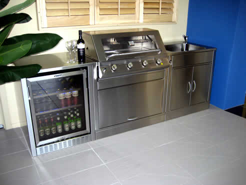 Outdoor kitchens and barbeques from lifestyle barbeques for Outdoor kitchen australia
