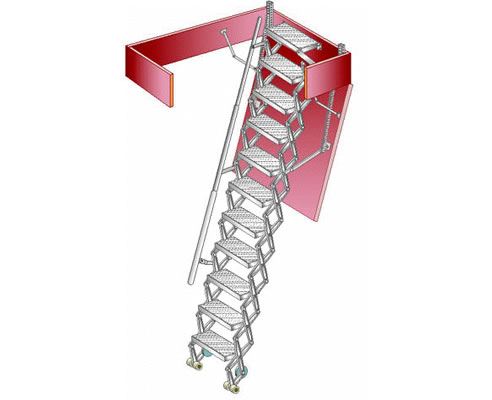 Industrial Attic Ladders From Kimberley Products