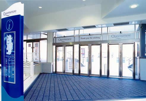 Entrance Mat System With Milliken Obex Modular Matting