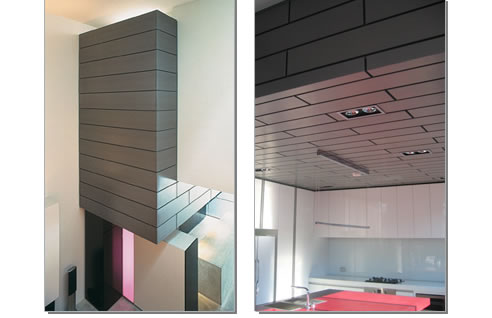 Interior Design With Zinc Panels From Vm Zinc