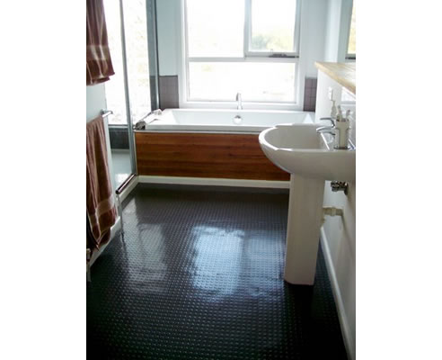 rubber floor tiles for bathrooms rubber flooring for bathrooms dalsouple australasia 24073