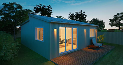 Flat Pack Kit Homes Shack In A Pack Penrith Nsw 2750
