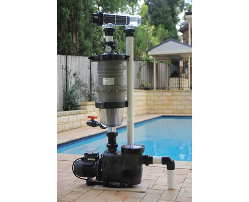 Swimming Pool Water Filtering With Multicyclone Plus
