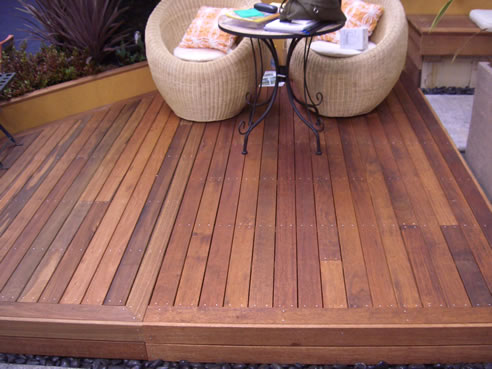Hardwood spotted gum decking bransons building materials for Hardwood decking supply