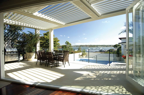 All Weather Entertaining With Vergola Louvre Roof System