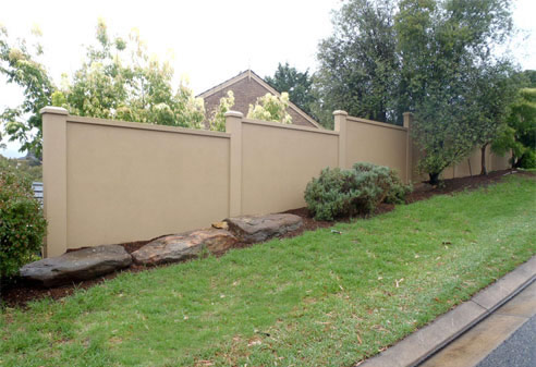 Modular Fence Panel Walls Wallmark Australia Maryborough
